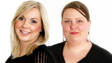 Anu Mikkola ja Anu Laitila