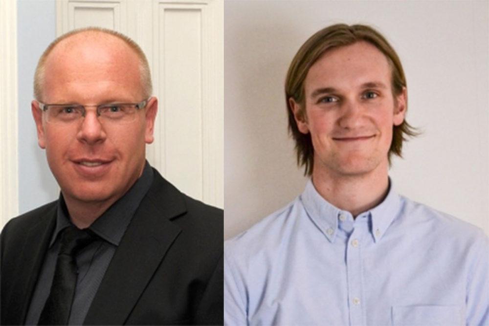 Wille Raitolampi ja Jussi Leinonen