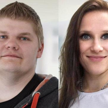 Kouluttajat Janne Arola ja Hanne Pitkänen