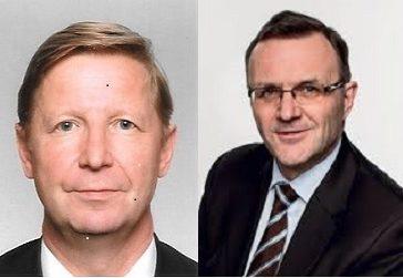Pekka Kähkönen ja Harri Hietala, varatuomarit
