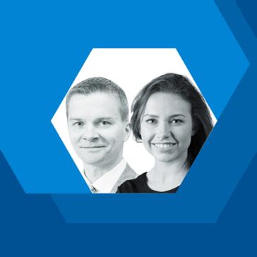 Petri Nevalainen ja Sofia Toivonen, työlainsäädännön asiantuntijat